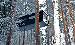 invisible tree house hotel. Has Six Absolutely Incredible Treehouse Rooms \u2014 From The Bizarre, Alien-themed UFO Room To Almost-invisible Mirrorcube, It Takes Your Weirdest Ideas Invisible Tree House Hotel