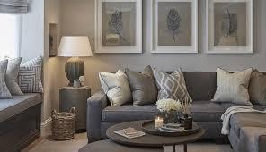 wall room art feature living furniture beige grey purple decor walls splendid decorating ideas brown and