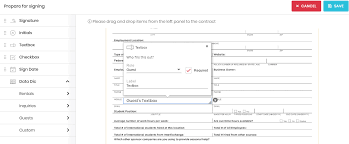Prompts will walk you through the process. Signature Contracts Tokeet Help Vacation Rental Management Software