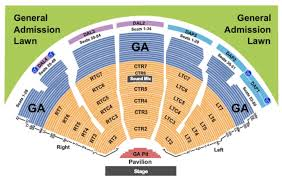 Dte Energy Seating Chart Clarkston Dte Energy Music Theatre Tickets In Clarkston Michigan