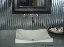 bathroom sinks denver. Sink With Corrugated Tin Backsplash In Metro Denver Parade Of Homes Bathroom Sinks L