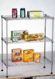 metal wire shelving display shelf kitchen storage rack
