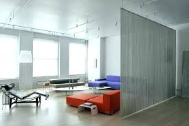ceiling mounted room dividers medium size of living clever modern partition wall partiti