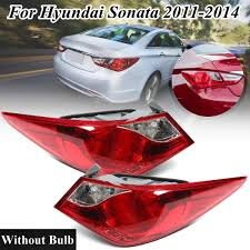 2012 Hyundai Sonata Rear Brake Light For Hyundai Sonata 2011 2012 2013 2014 1 Pair Car Tail Light