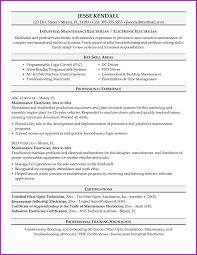 Sample Resume Of Registered Master Electrician Best Electrician