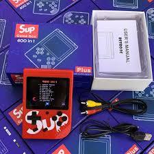 Máy chơi game 4 nút cầm tay sup 400 trò in 1 giá rẻ