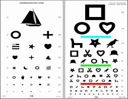 Snellen Vision Test Online Charts Collection