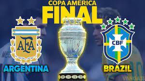 موعد مباراة البرازيل والأرجنتين في نهائي كوبا أمريكا والقنوات الناقلة