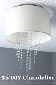 diy chandelier lamp shade indoor drum lamp shade chandelier great drum chandelier tutorial makeover orc diy