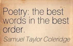 Quotation Poetry Coleridgean Quotes Novelacious