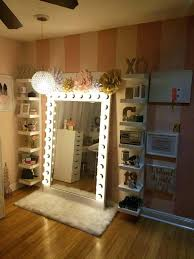 make up mirror lighting. Vanity Mirror With Bulbs Set Lights Lighted Sensor Activated Makeup Bathroom Wall Mount . Light Make Up Lighting