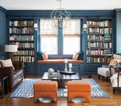 Window Seat Living Room Navy Blue Living Room Ideas Living Room Transitional With Built In