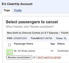 Cleartrip Trains Faqs