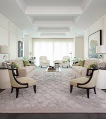 rug on carpet. Rug On Carpet With Transitional Living Room And White Arm Chairs Oil Painting Glass Coffee Table Landscape Tray Ceiling R