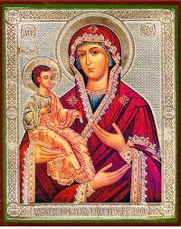 virgin mary three handed orthodox icon loading zoom