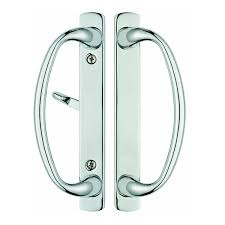 88060005 charlotte sliding door handle set fits 3 15 16 ctc holes in polished chrome