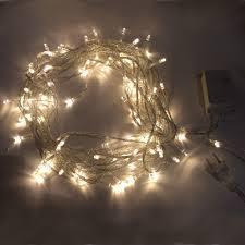 Mini White Light Strings Warm White 10m 8 Mode Led String Lights Fairy Lights Christmas Lights Tinkersphere