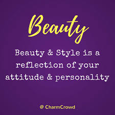 Quotes On Beauty And Attitude Best of Quote 24 Beauty Style Is A Reflection Of Your Attitude