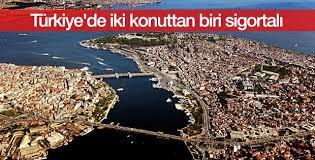 Türkiye'de iki konuttan biri sigortalı