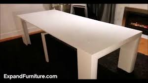 space saving furniture table. Space Saving Table Becomes Massive Dinner | Expand Furniture - YouTube S