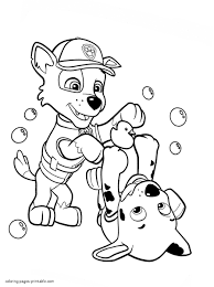Paw Patrol Coloring Pages 23 On Printable Paw Patrol Coloring Pages