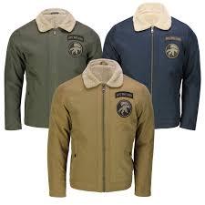 details about mens winter er jacket warm fleece fur lining smart casual retro fashion coat