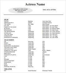 modern pilot resume modern resume template 11 acting resume templates free samples