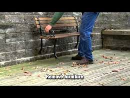 how to clean and prep wood or deck for staining