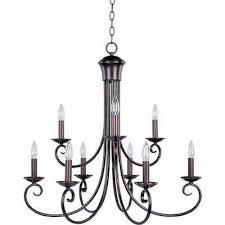 loft 9 light oil rubbed bronze chandelier
