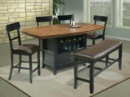 round pine kitchen table and chairs farmhouse small pub style dining room with black finish solid wood high top adorable st