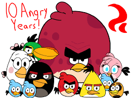 Angry Birds (10th Anniversary) by BabyLambCartoons on DeviantArt