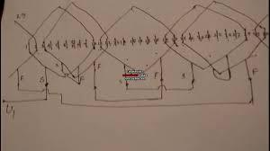 how to make 36 slot three phase motor 4 pole basket rewinding how to make 36 slot three phase motor 4 pole basket rewinding diagram