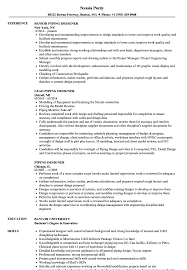 Piping design engineer resume pdf