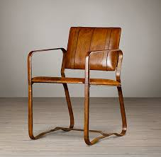 rh s buckle chair antiqued chestnut our equestrian inspired buckle chair bears all the hallmarks of a prized vintage piece