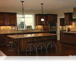 What Color To Paint Kitchen With Dark Cabinets Best Decoration