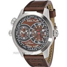 men s sector oversize collection dual time watch r3251102055 mens sector oversize collection dual time watch r3251102055