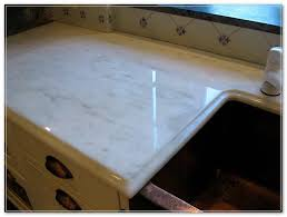 how to care for polished marble countertops