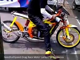 drag race motor lampung indonesia th 2015 youtube