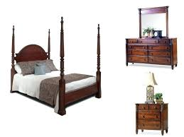 Four Poster Bedroom Furniture Mount Collection Ashley Furniture Ledelle  Poster Bedroom Set