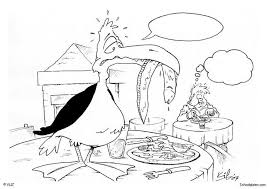 Kleurplaat Vogel In Restaurant Afb 5469 Images