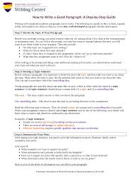 9 Paragraph Writing Examples In Pdf Examples