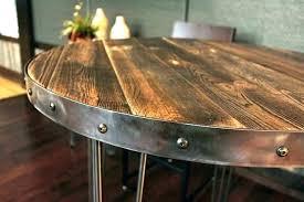 reclaimed wood table top toronto diy x kitchen glamorous r