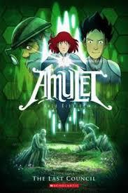 fantasy books for kids graphic novels amulet the last council