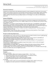 Resume Templates: Urban Planner