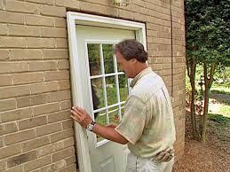 Installing Exterior Door In Cinder Block Wall