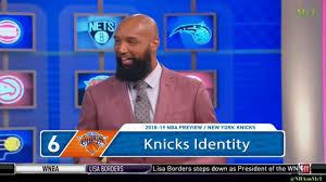 Knicks Projected Depth Chart New York Knicks 2018 19 Nba