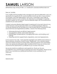Cover Letter Livecareer Paralegal Cover Letter Examples Legal Sample Cover Letters