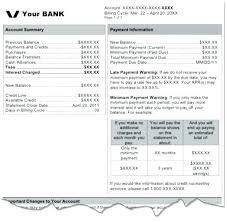 Credit Card Statement Template – Francistan Template