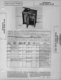 1947 magnavox cr 188 radio service manual photofact schematic 4 Ohm Speaker Wiring Diagram at Magnavox Console Speaker Wiring Diagram
