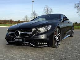 Mercedes-Benz S63 AMG Coupe by G-Power Makes 705 HP - autoevolution
